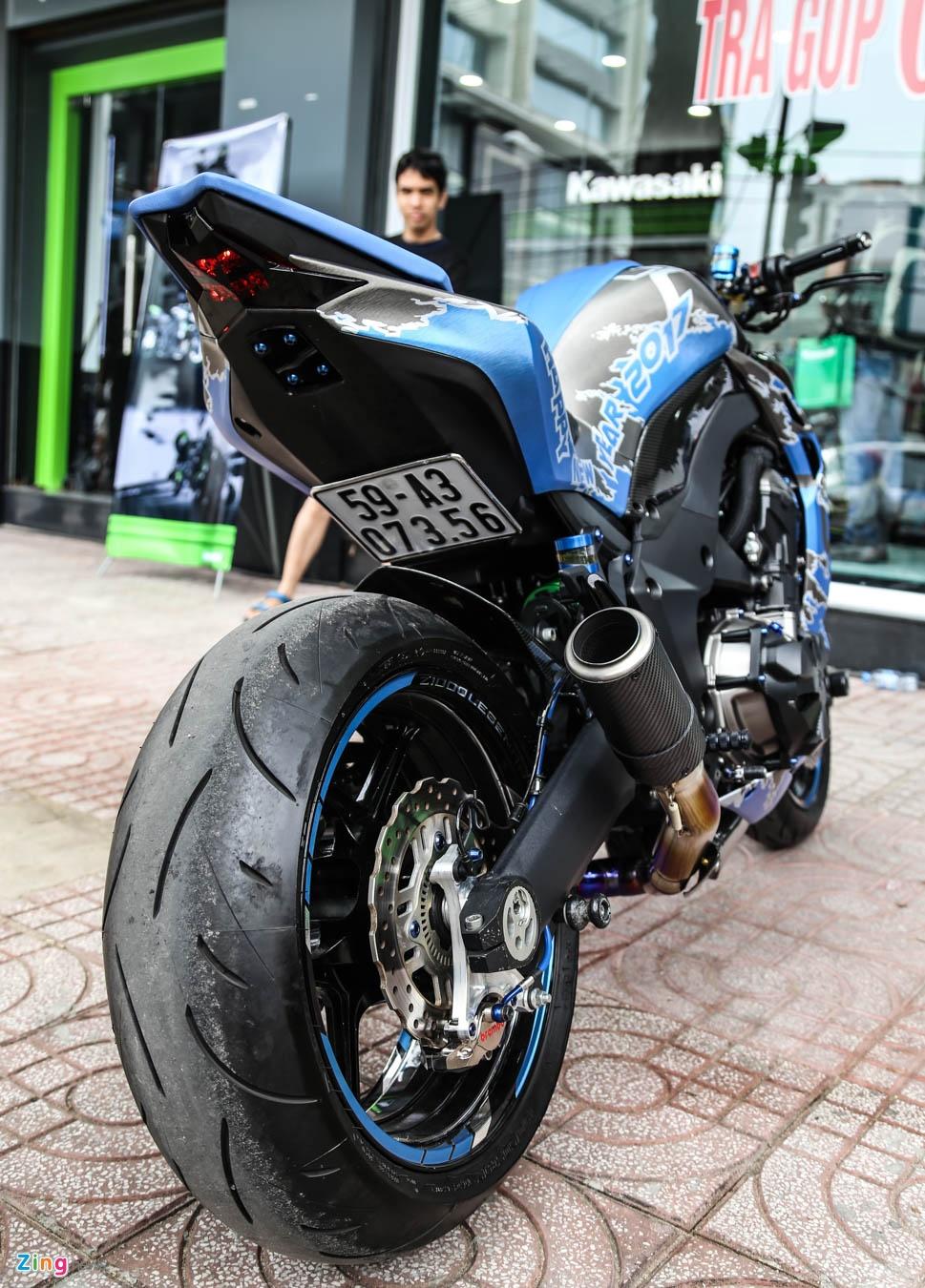Kawasaki Z1000 do don Tet anh 4