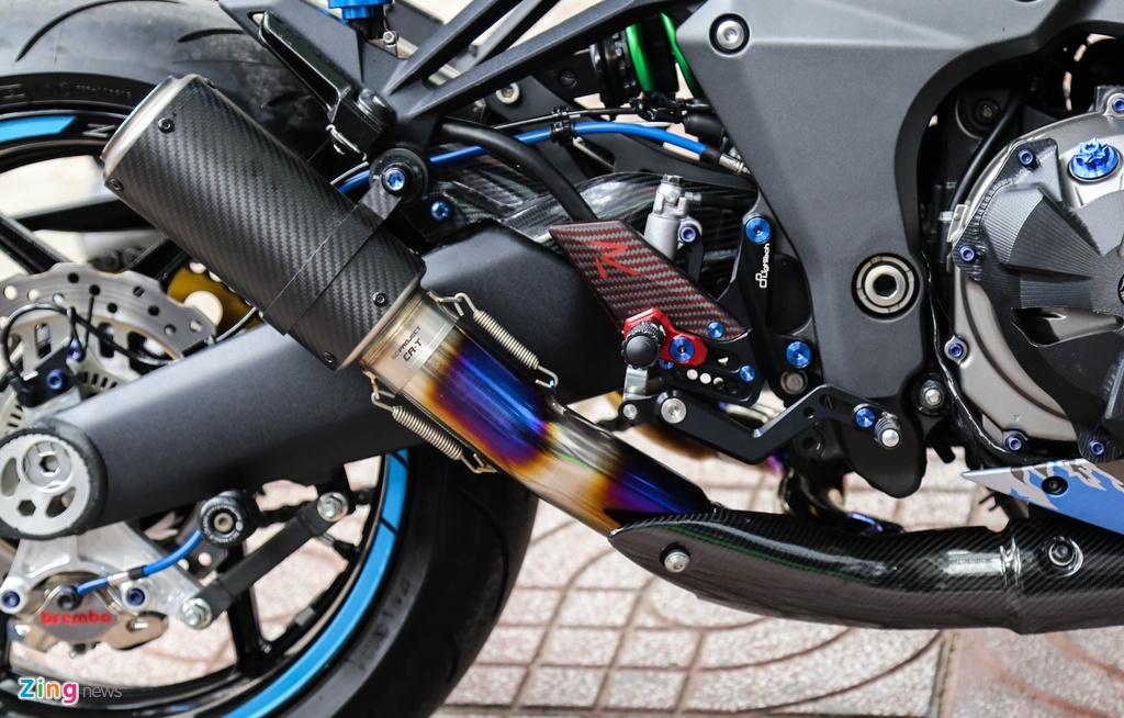 Kawasaki Z1000 do don Tet anh 5