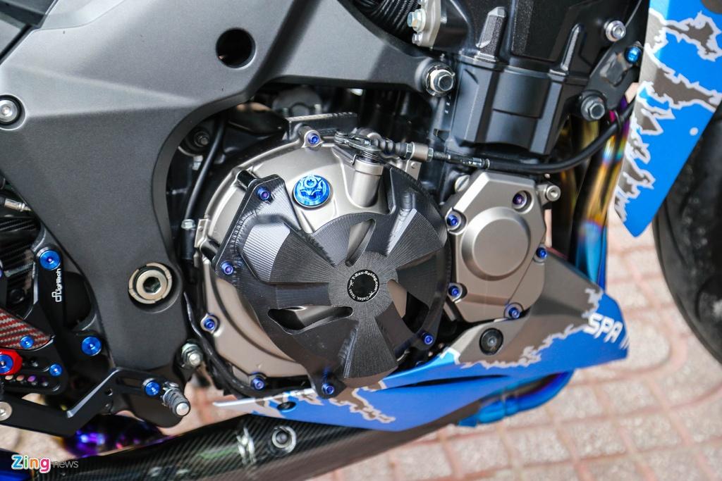 Kawasaki Z1000 do don Tet anh 8