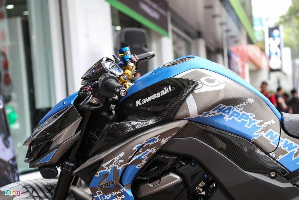 Kawasaki Z1000 do don Tet anh 9