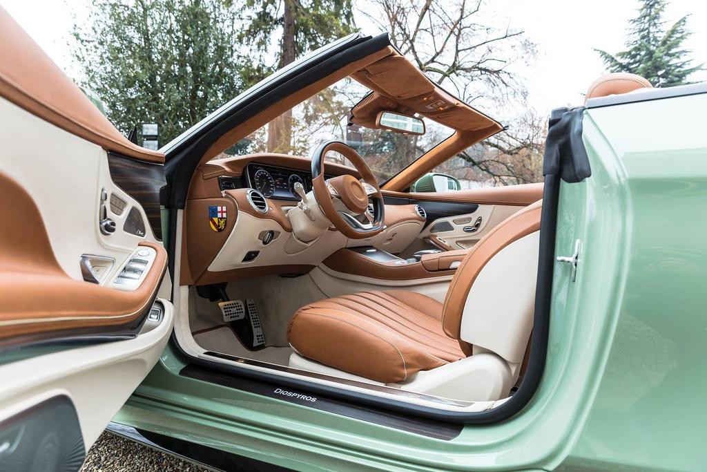 Mercedes S-Class mui tran Carlsson anh 7
