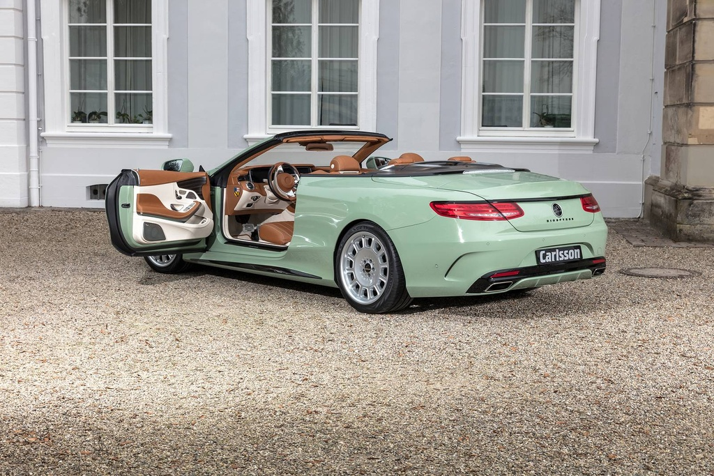 Mercedes S-Class mui tran Carlsson anh 6