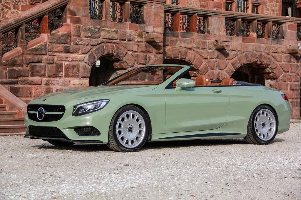 Mercedes S-Class mui tran Carlsson anh 4