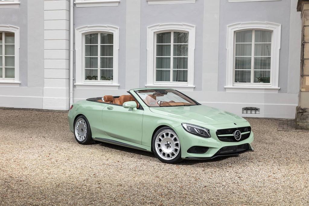Mercedes S-Class mui tran Carlsson anh 1