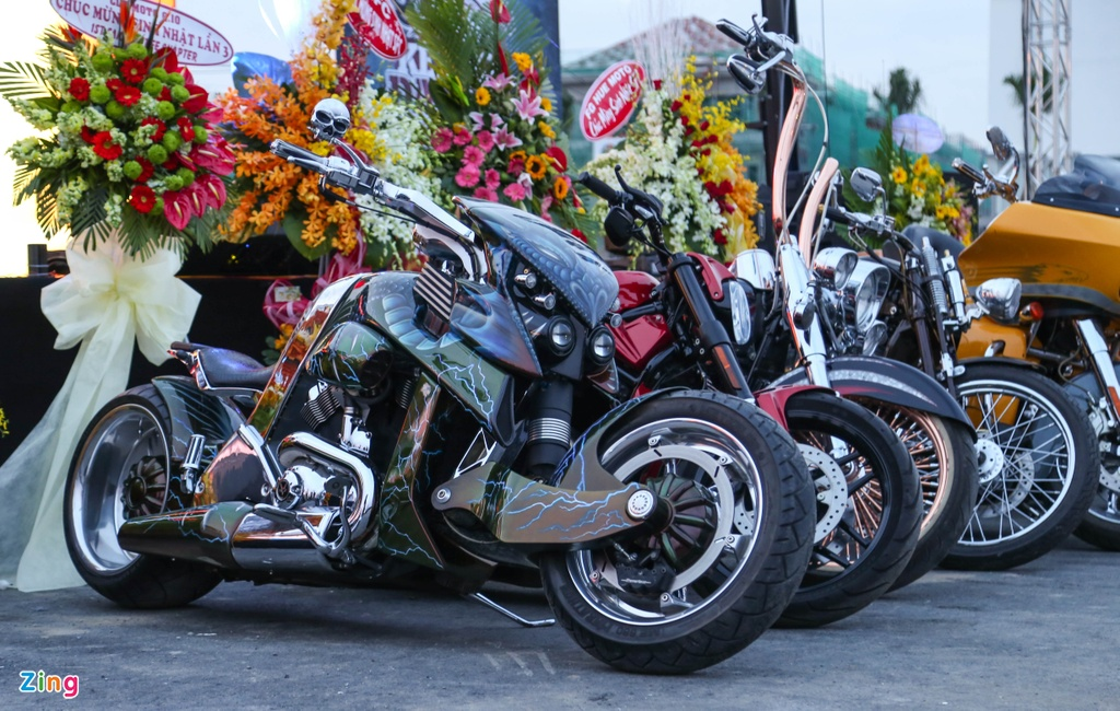 Hang nghin biker hoi ngo mung sinh nhat Saigon Free Chapter hinh anh 11