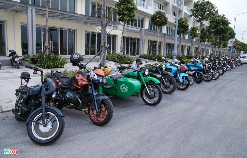Hang nghin biker hoi ngo mung sinh nhat Saigon Free Chapter hinh anh 2