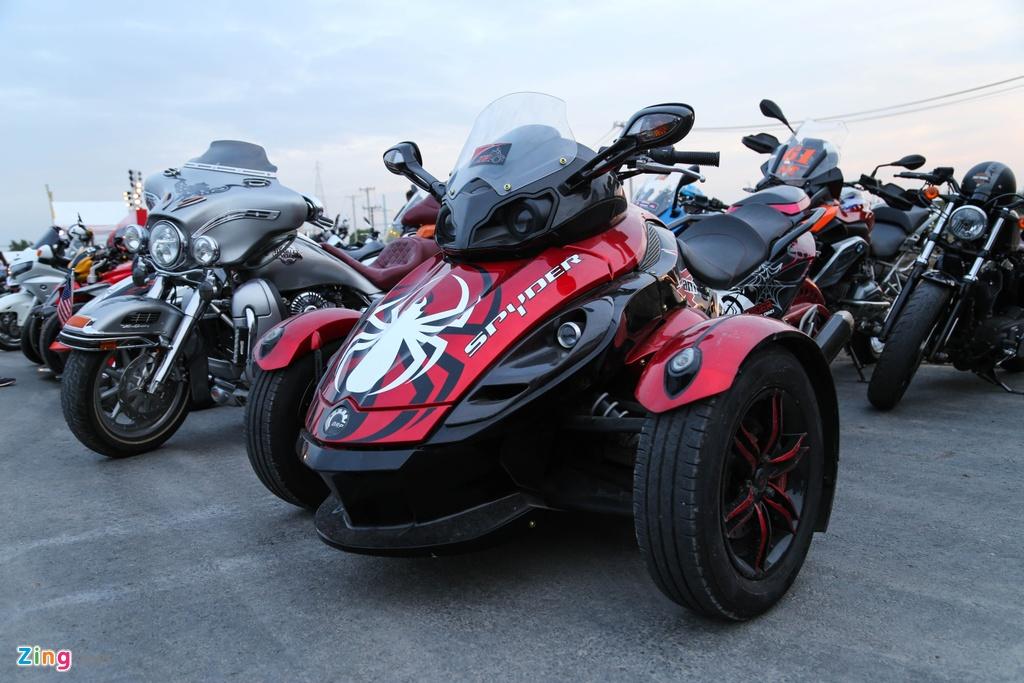 Hang nghin biker hoi ngo mung sinh nhat Saigon Free Chapter hinh anh 7