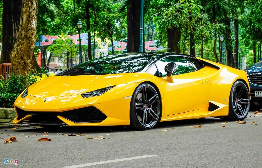 Sieu xe Lamborghini Huracan cua Cuong Do La do gam thap hinh anh 1