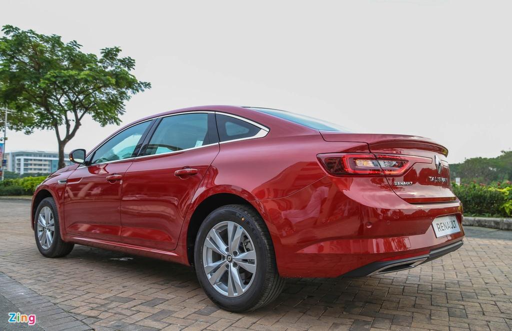 Renault Talisman - sedan hang D cao cap gia 1,5 ty tai VN hinh anh 6