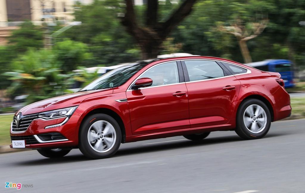 Renault Talisman - sedan hang D cao cap gia 1,5 ty tai VN hinh anh 17