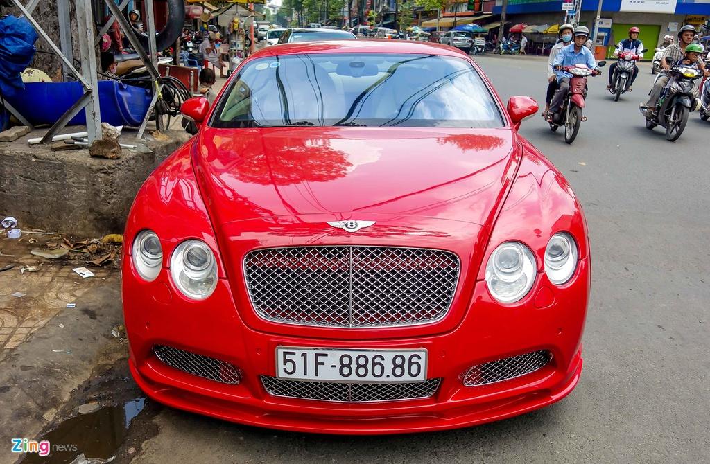 Sieu xe Bentley do bien dep o Sai Gon hinh anh 1