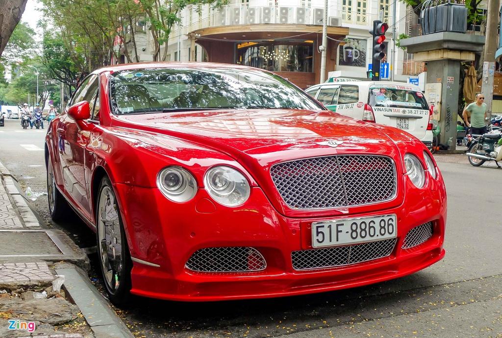 Sieu xe Bentley do bien dep o Sai Gon hinh anh 2
