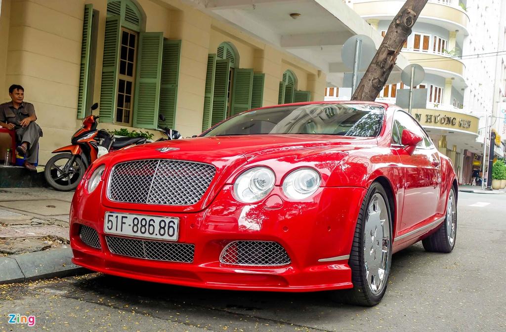 Sieu xe Bentley do bien dep o Sai Gon hinh anh 3