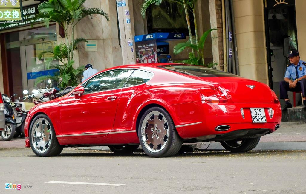 Sieu xe Bentley do bien dep o Sai Gon hinh anh 5