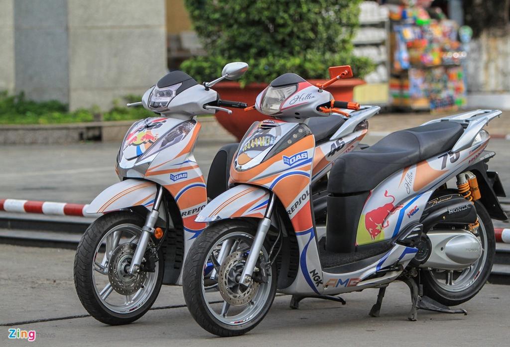 Honda SH 300i do o Sai Gon anh 1