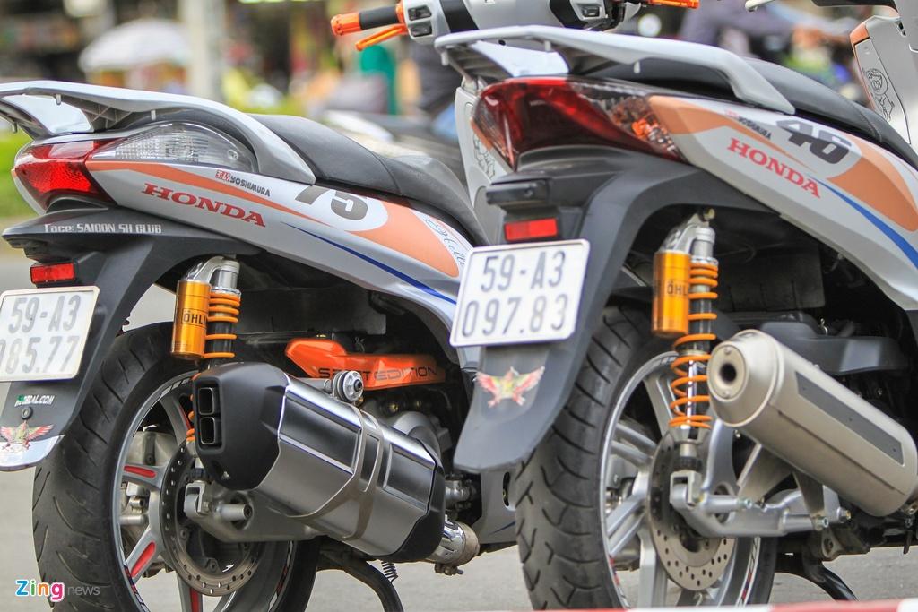 Honda SH 300i do o Sai Gon anh 8