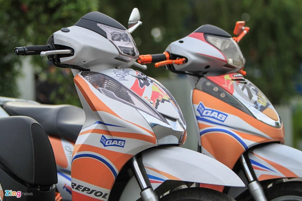 Honda SH 300i do o Sai Gon anh 10