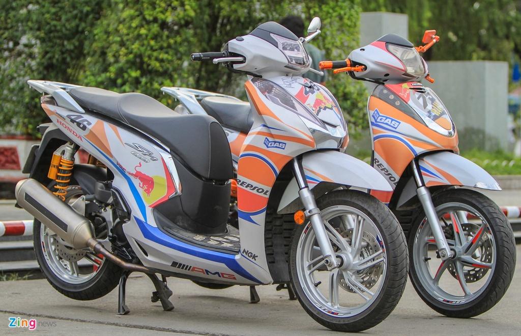 Honda SH 300i do o Sai Gon anh 3