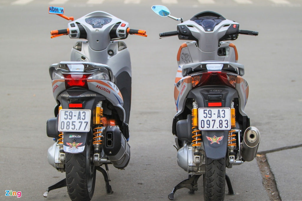 Honda SH 300i do o Sai Gon anh 5