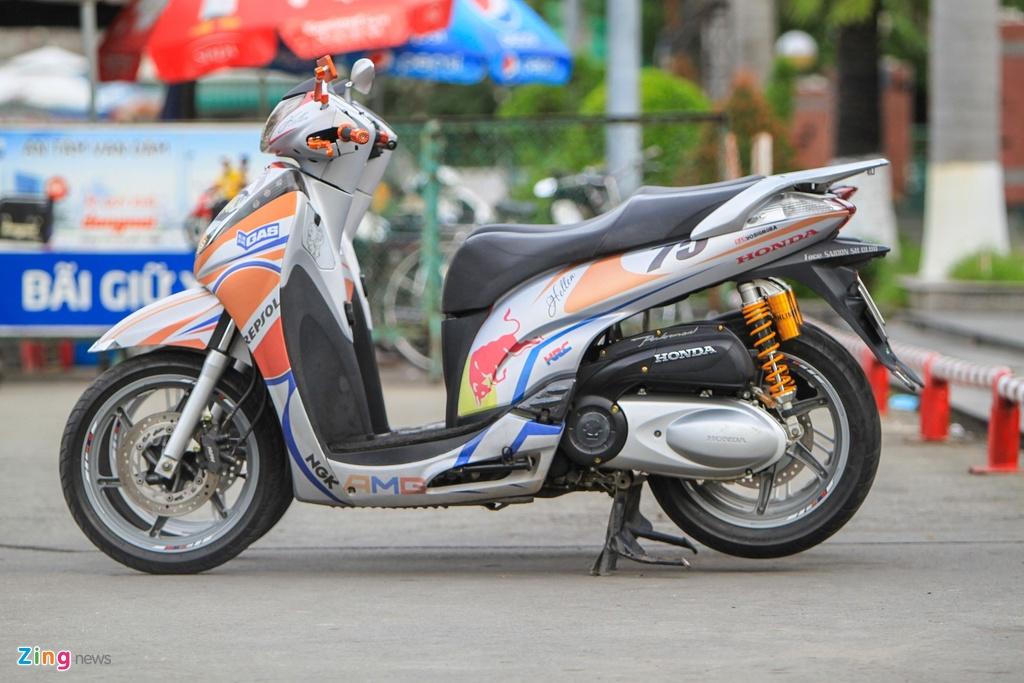 Honda SH 300i do o Sai Gon anh 6