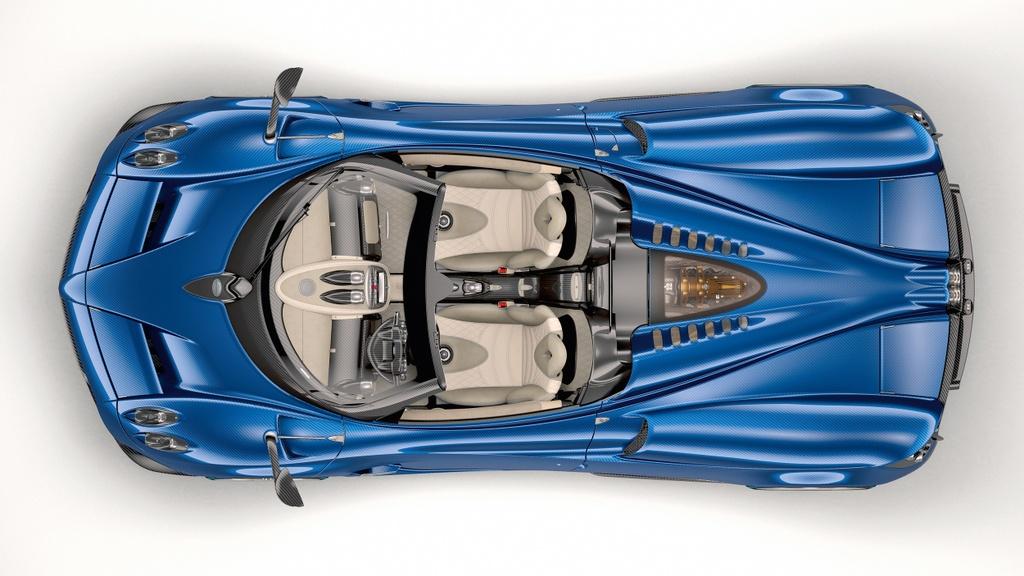 Pagani Huayra Roadster ra mat gia 2,4 trieu USD hinh anh 7