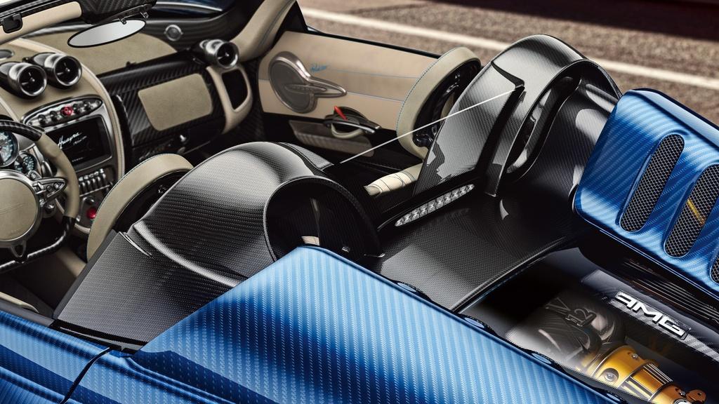 Pagani Huayra Roadster ra mat gia 2,4 trieu USD hinh anh 3