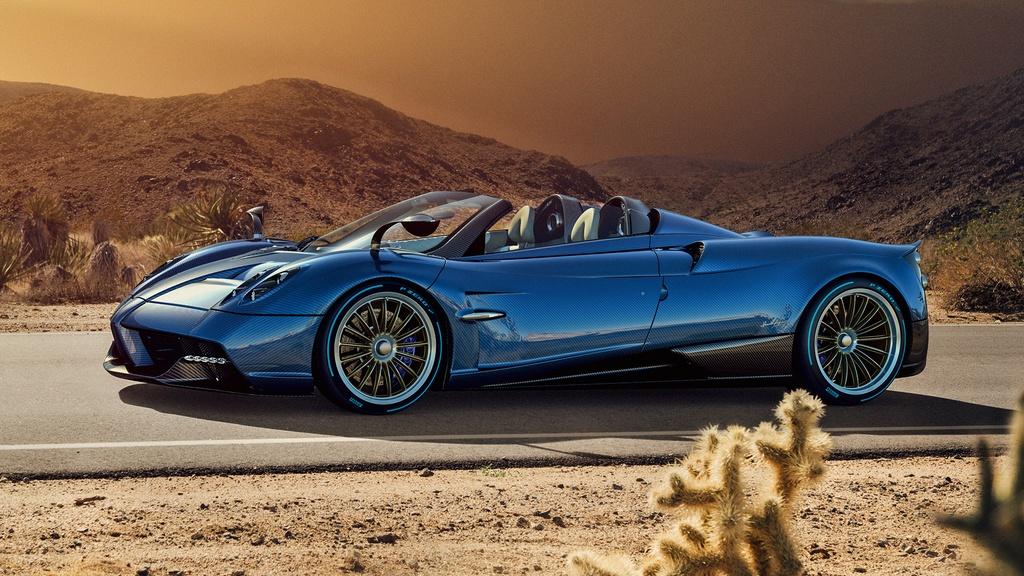 Pagani Huayra Roadster ra mat gia 2,4 trieu USD hinh anh 1
