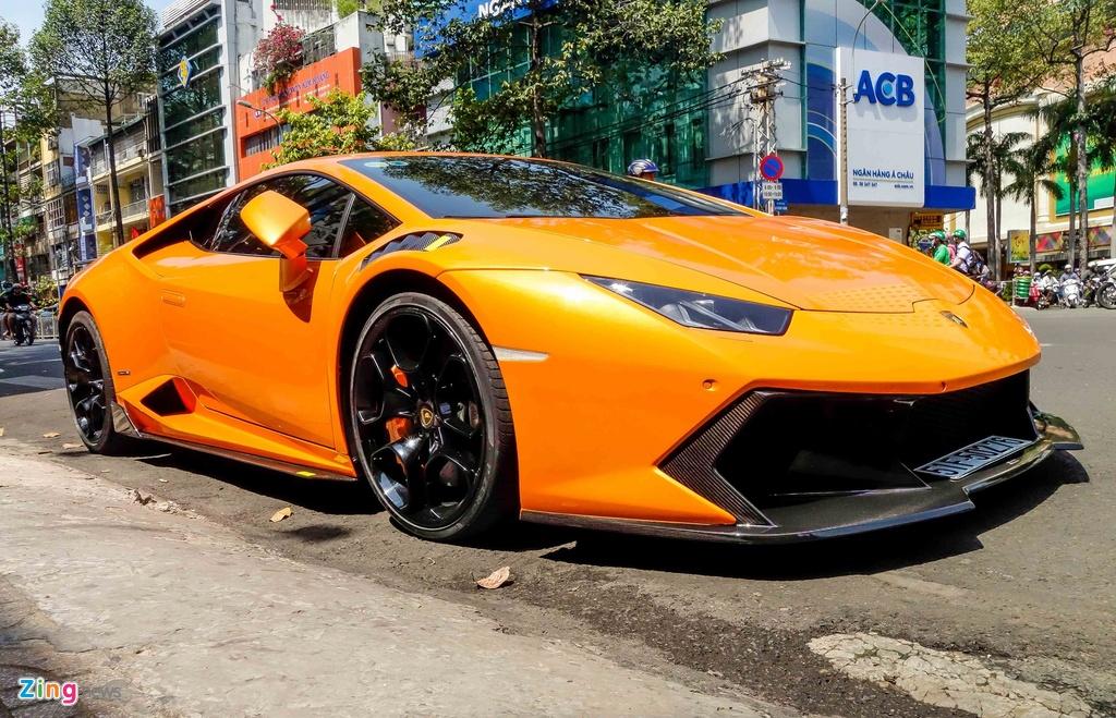 Sieu xe Lamborghini Huracan do kieu xe dua o Sai Gon hinh anh 5