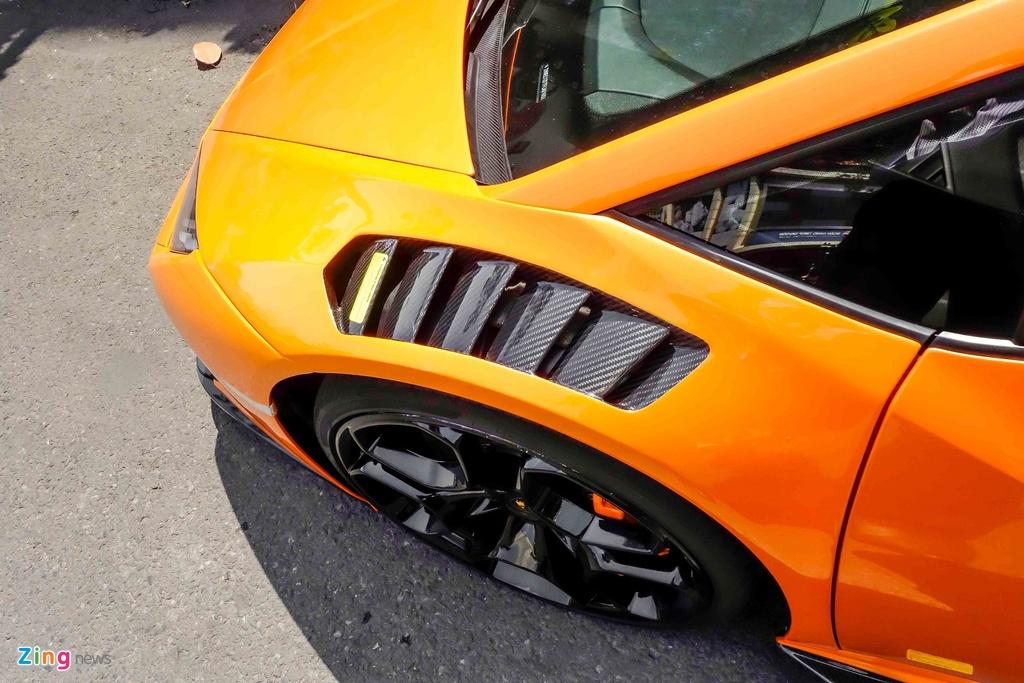 Sieu xe Lamborghini Huracan do kieu xe dua o Sai Gon hinh anh 6