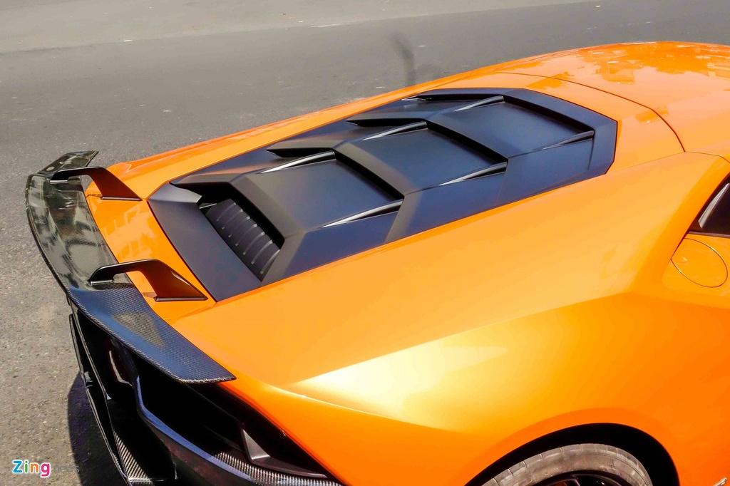 Sieu xe Lamborghini Huracan do kieu xe dua o Sai Gon hinh anh 7