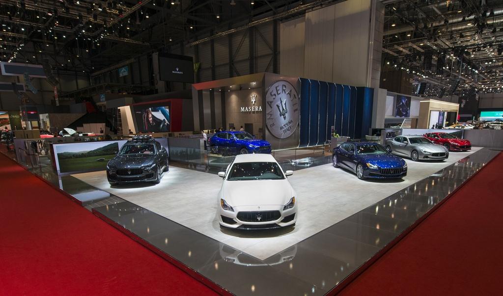 Maserati gioi thieu loat xe dac biet tai trien lam Geneva hinh anh 1