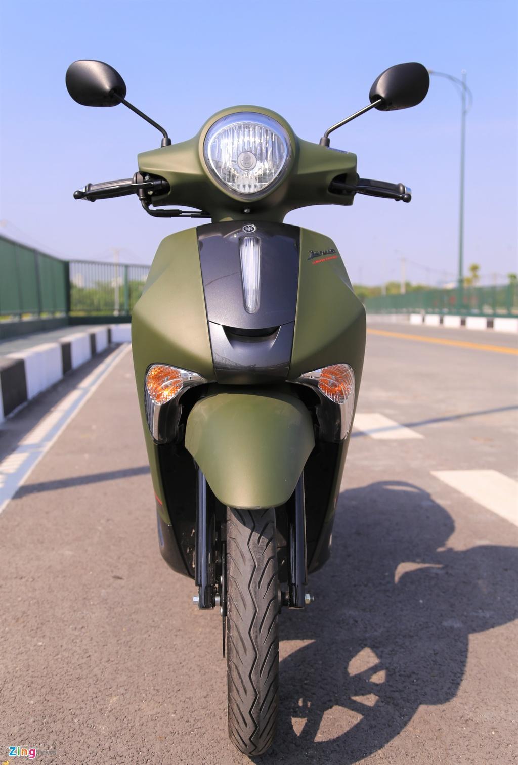 Yamaha Janus ban mau xanh quan doi gia 32 trieu tai Viet Nam hinh anh 2