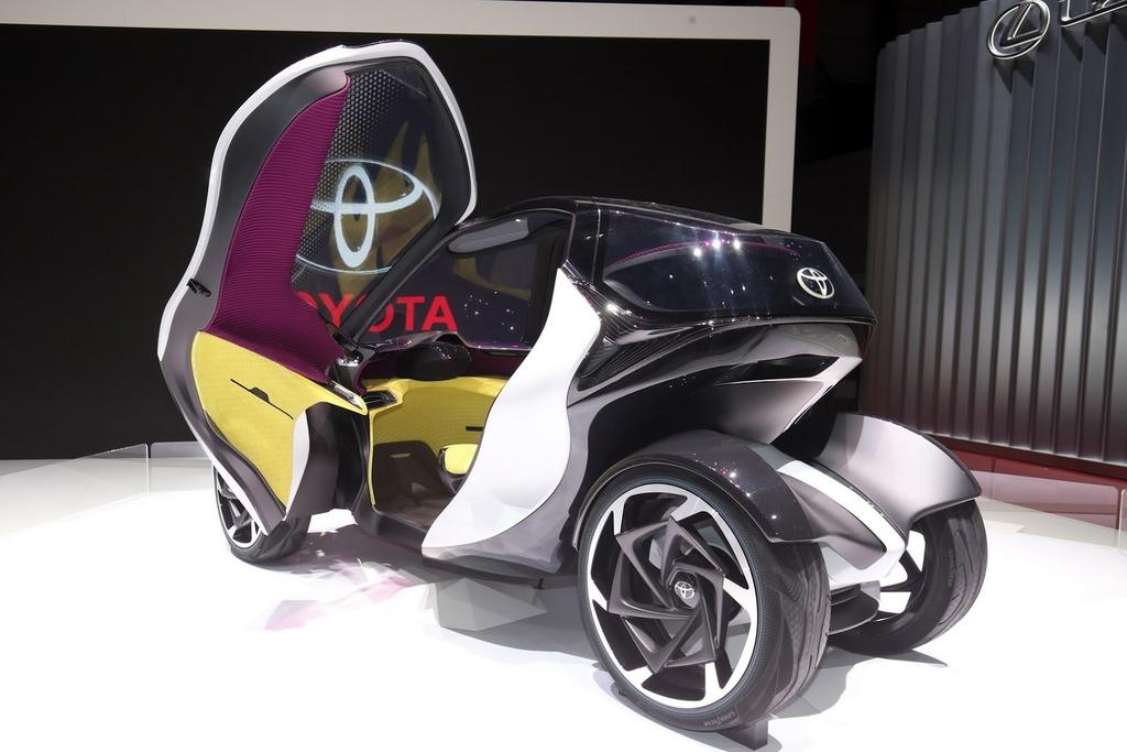 Toyota gioi thieu xe nho cho nguoi thanh pho hinh anh 5