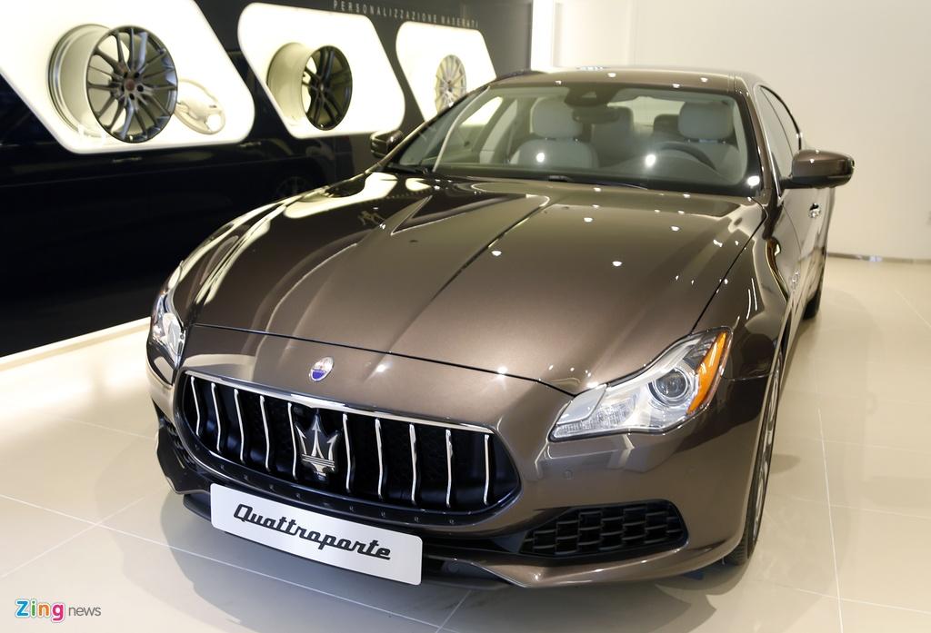 Maserati Quattroporte Viet Nam anh 1