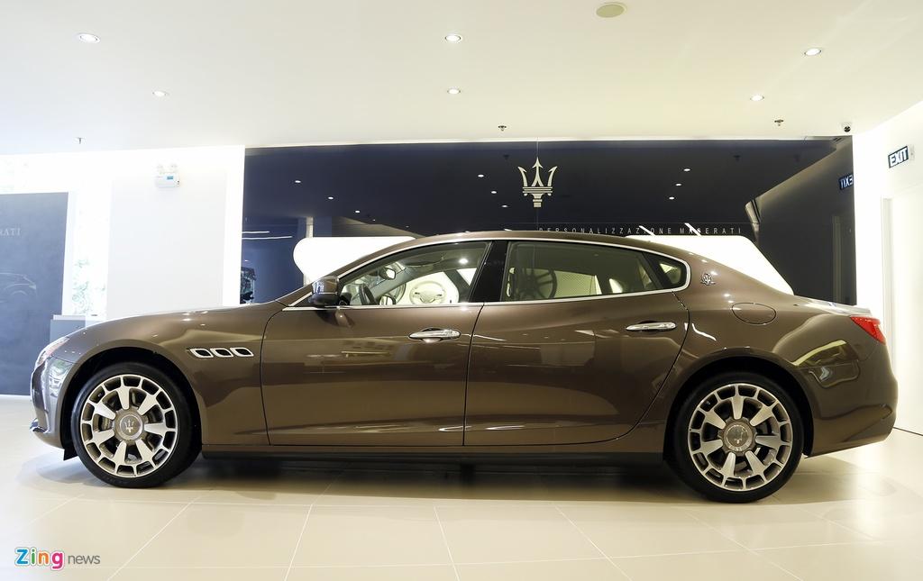 Maserati Quattroporte Viet Nam anh 2