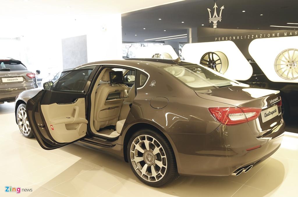 Maserati Quattroporte Viet Nam anh 3