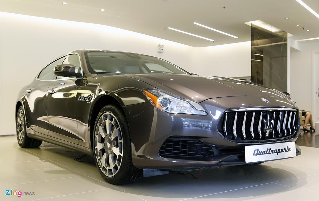 Maserati Quattroporte Viet Nam anh 4