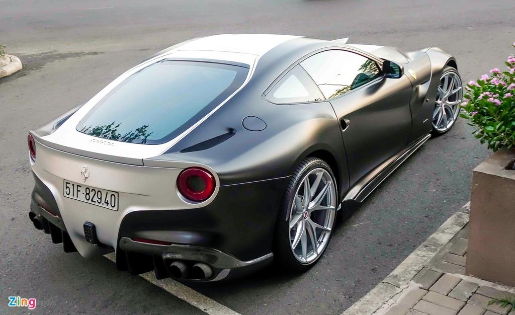 sieu xe Ferrari cua Cuong Do La anh 4