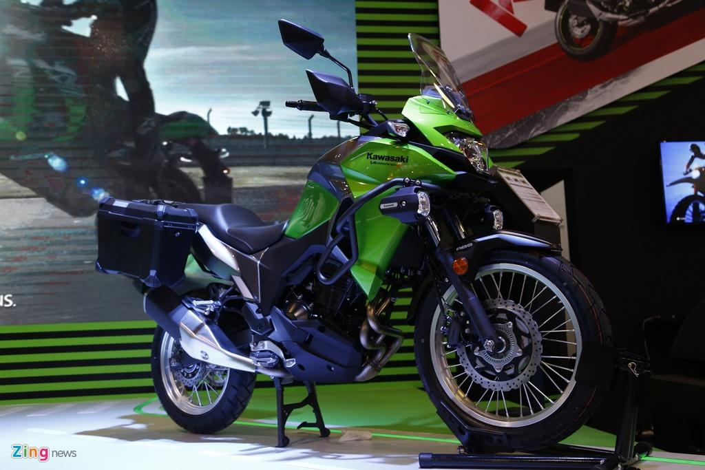 Kawasaki Versys 300 - xe nho cho nguoi moi lay bang A2 tai VN hinh anh 1
