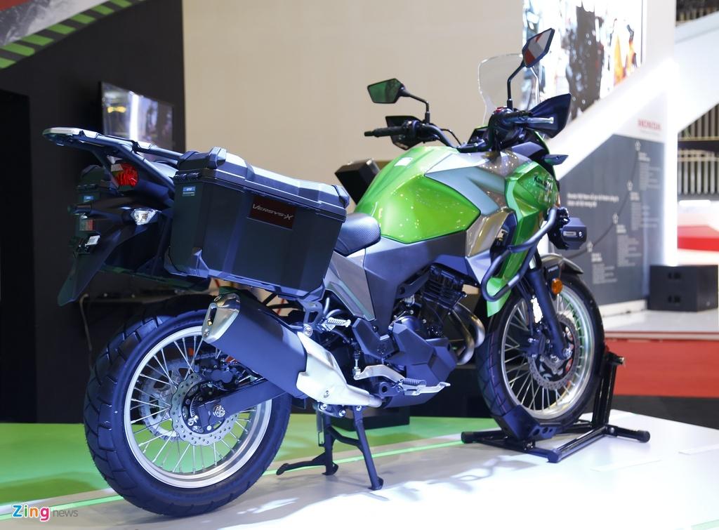 Kawasaki Versys 300 - xe nho cho nguoi moi lay bang A2 tai VN hinh anh 2