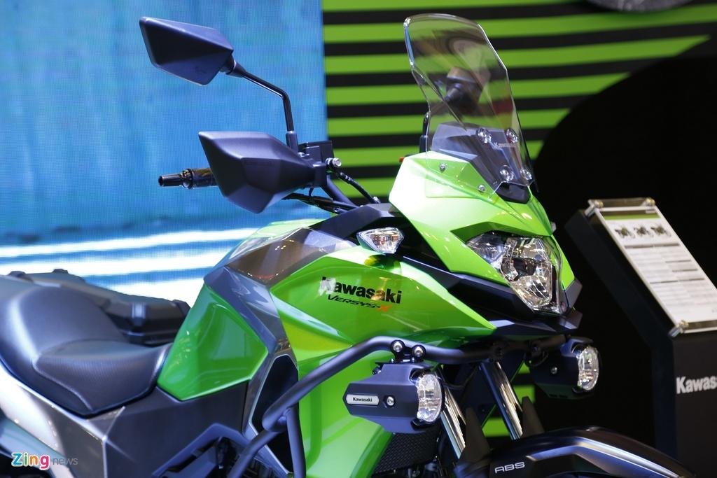 Kawasaki Versys 300 - xe nho cho nguoi moi lay bang A2 tai VN hinh anh 4