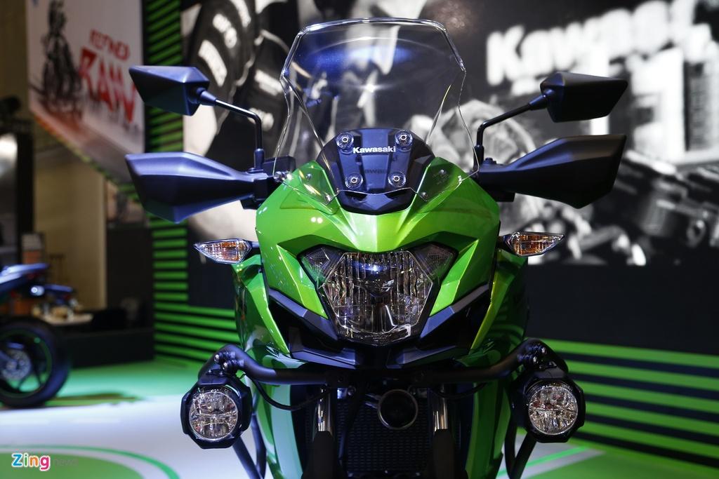 Kawasaki Versys 300 - xe nho cho nguoi moi lay bang A2 tai VN hinh anh 5