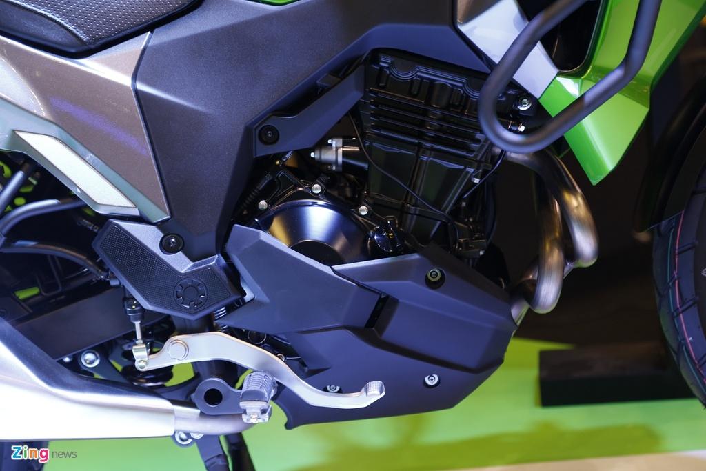 Kawasaki Versys 300 - xe nho cho nguoi moi lay bang A2 tai VN hinh anh 8