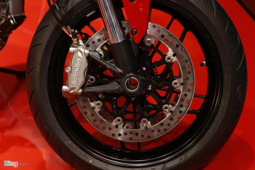 Chi tiet Ducati Monster 797 gia 390 trieu moi ra mat tai Viet Nam hinh anh 12