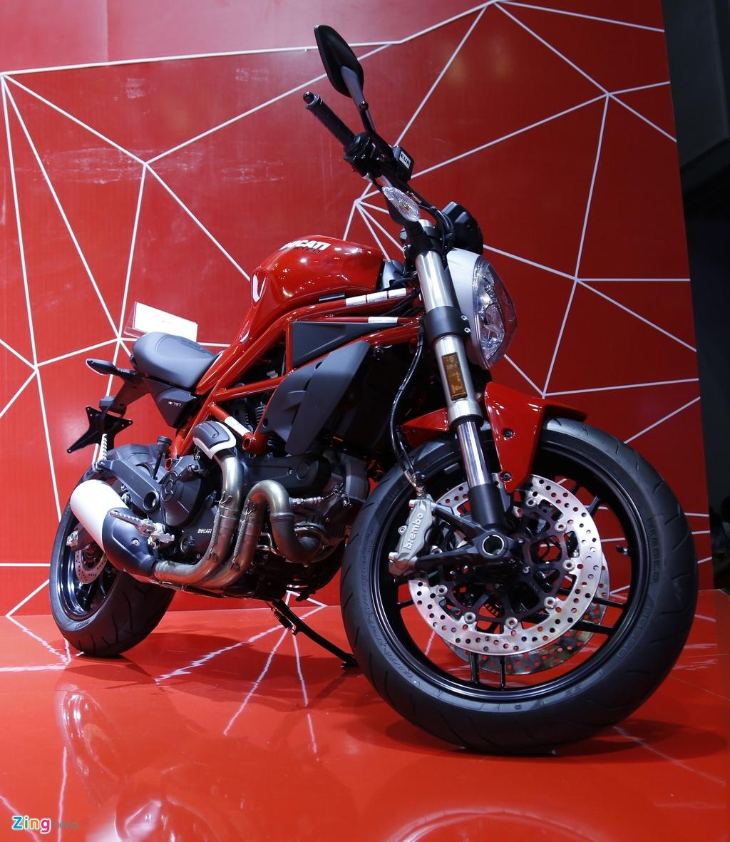 Chi tiet Ducati Monster 797 gia 390 trieu moi ra mat tai Viet Nam hinh anh 1