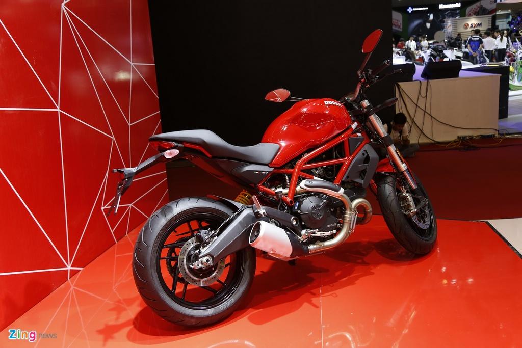 Chi tiet Ducati Monster 797 gia 390 trieu moi ra mat tai Viet Nam hinh anh 2