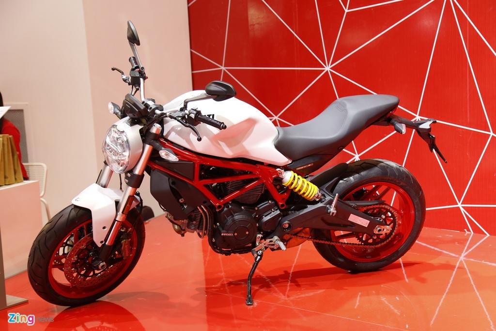 Chi tiet Ducati Monster 797 gia 390 trieu moi ra mat tai Viet Nam hinh anh 3