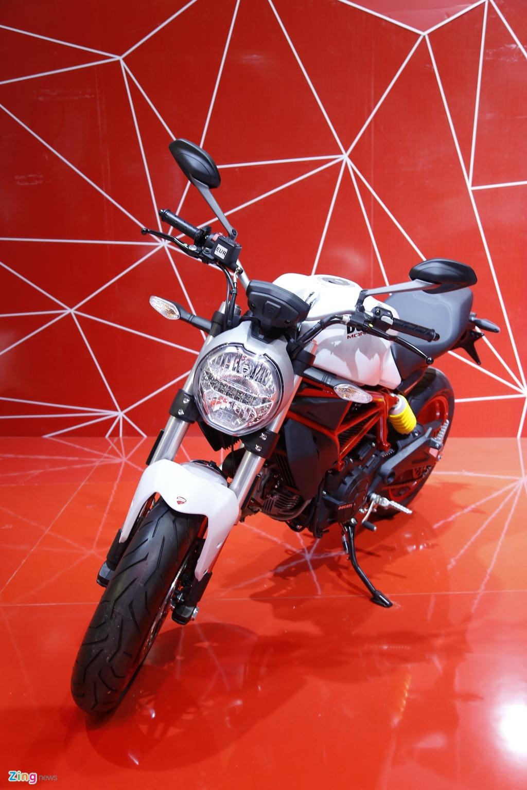 Chi tiet Ducati Monster 797 gia 390 trieu moi ra mat tai Viet Nam hinh anh 4