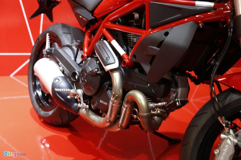 Chi tiet Ducati Monster 797 gia 390 trieu moi ra mat tai Viet Nam hinh anh 5