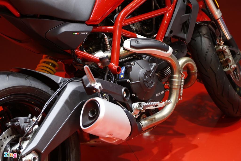 Chi tiet Ducati Monster 797 gia 390 trieu moi ra mat tai Viet Nam hinh anh 6